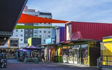 Retailers in Christchurch's so-called container mall are on the move.