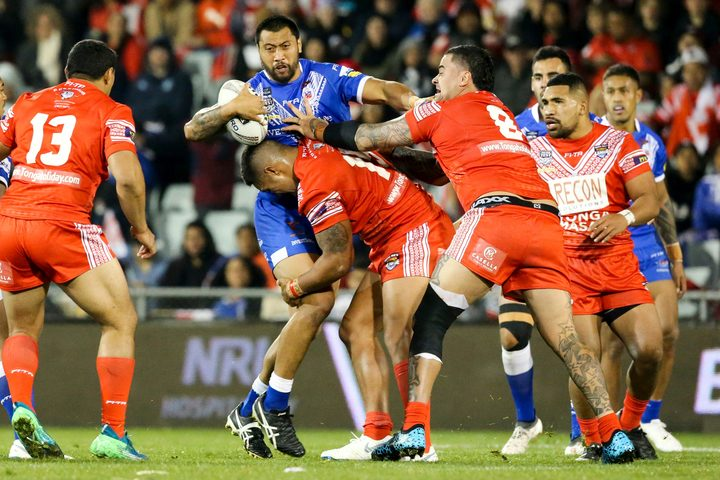 Tonga and Samoa will both feature in the Oceania Cup in 2019.