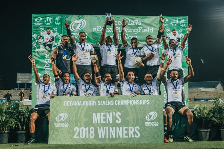 Fiji retained the Oceania Men's Sevens title in 2018.