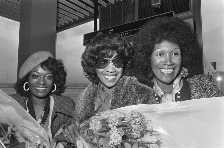 The Pointer Sisters in the early 70s