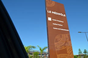 New Caledonia's main hospital