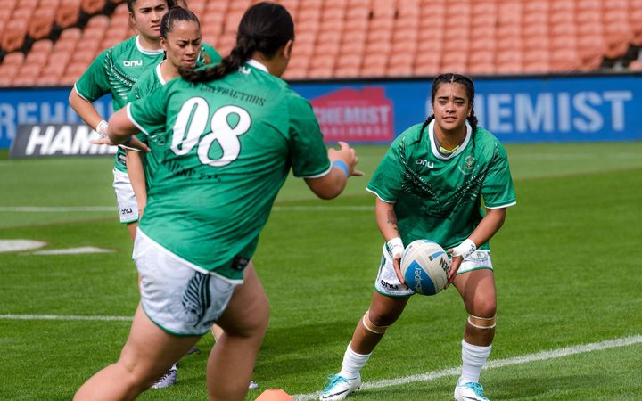 Maori Ferns training session