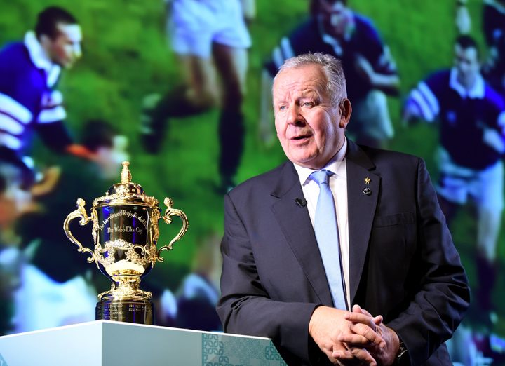 World Rugby Chairman Bill Beaumont.