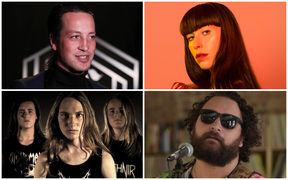 Marlon Williams, Kimbra, Troy Kingi and Alien Weaponry