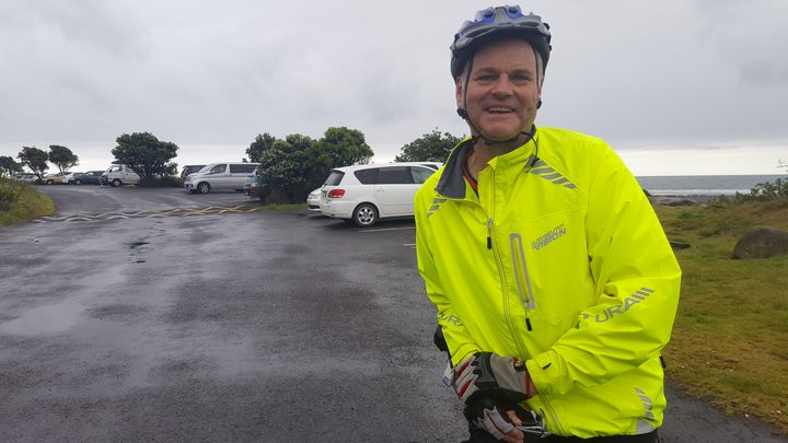 Cyclist Kevin Hambling said he was disappointed council staff didn't spot the bylaw error.