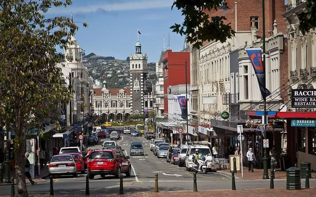 News New Zealand Wikipedia: Dunedin's Octagon Could Be Car-free