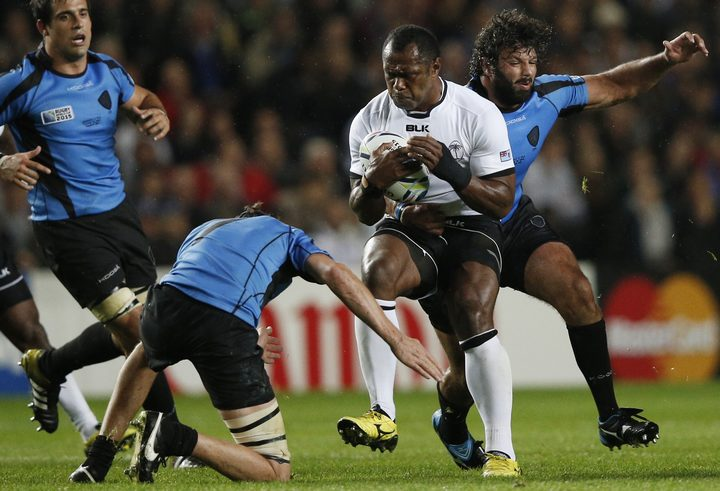 Fiji beat Uruguay at the 2015 World Cup and the teams will clash against in Japan next year.