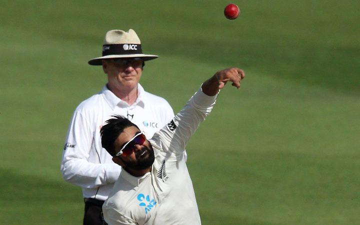 Black Caps spinner Ajaz Patel