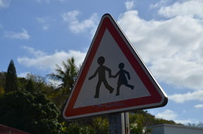 Crossing at New Caledonia school