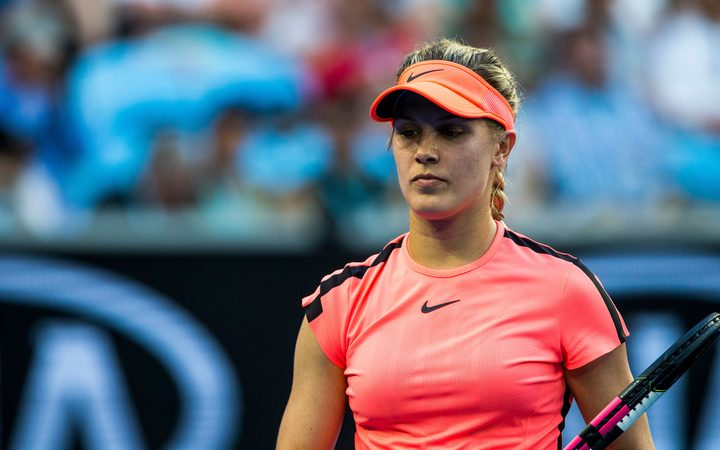 Eugenie Bouchard Added To Asb Classic Field Rnz News