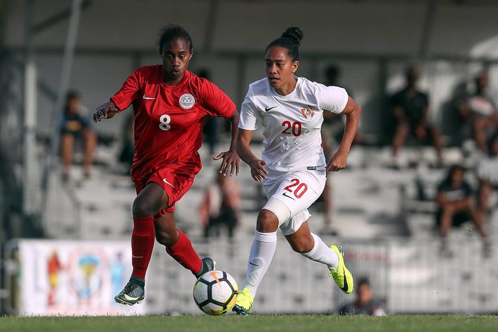 Tahiti returned to senior women's football after a seven-year lay-off.