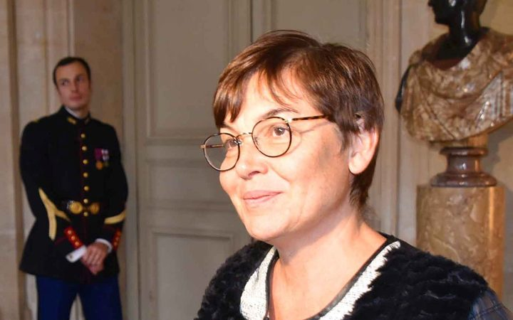 French overseas minister Annick Girardin