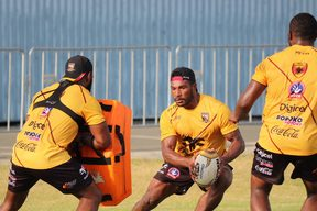 Goroka Lahanis winger Brandon Nima is one of the new faces in the PNG Hunters squad, having starred for the PNG U23 Residents team and scored on debut for the Kumuls against England Knights.