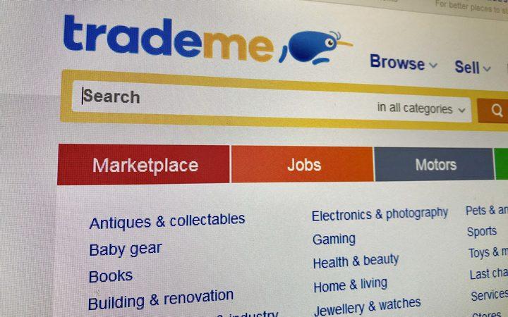 Trade Me website