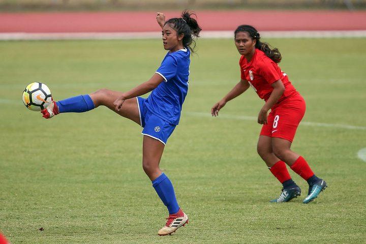 15 year old Sina Sataraka scored a hat-trick for Samoa.