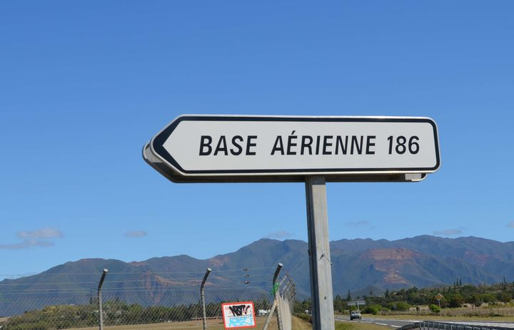 French air base in New Caledonia