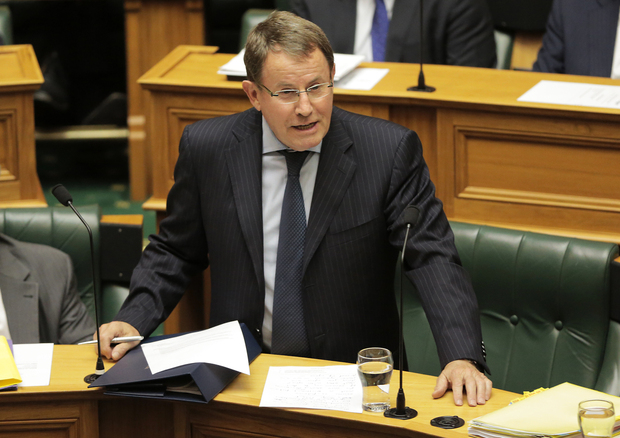 John Banks speaking in Parliament.