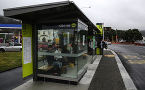 The Kilbirnie bus hub in Wellington.
