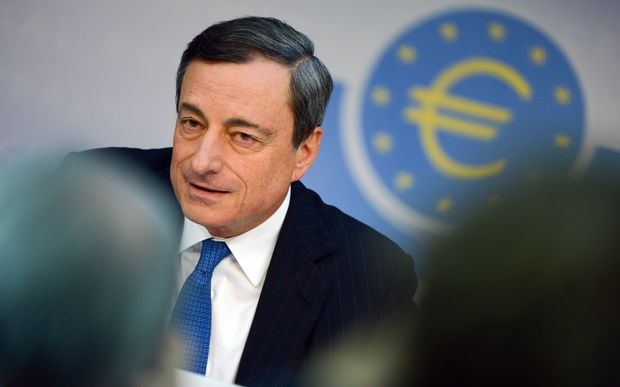 "Mario Draghi said the measures were aimed at increasing lending to the ""real economy""."