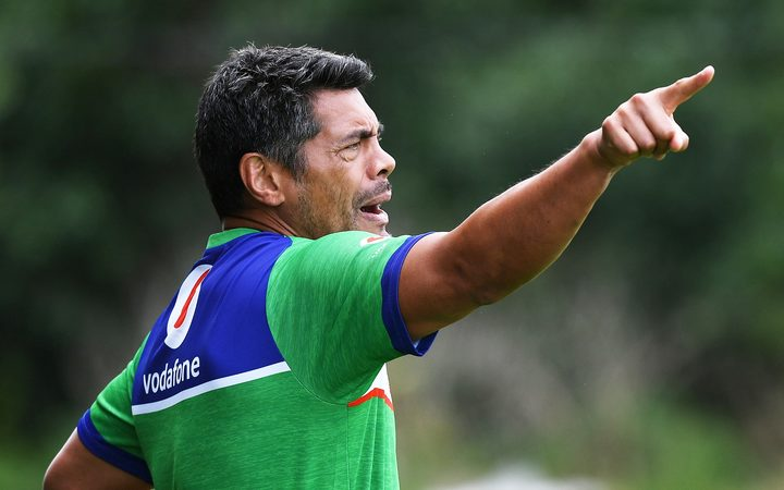 Warriors coach Stephen Kearney has effectively shown Shaun Johnson the door.
