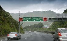 Ngauranga Gorge in Wellington is one of the locations to have new digital speed cameras installed.
