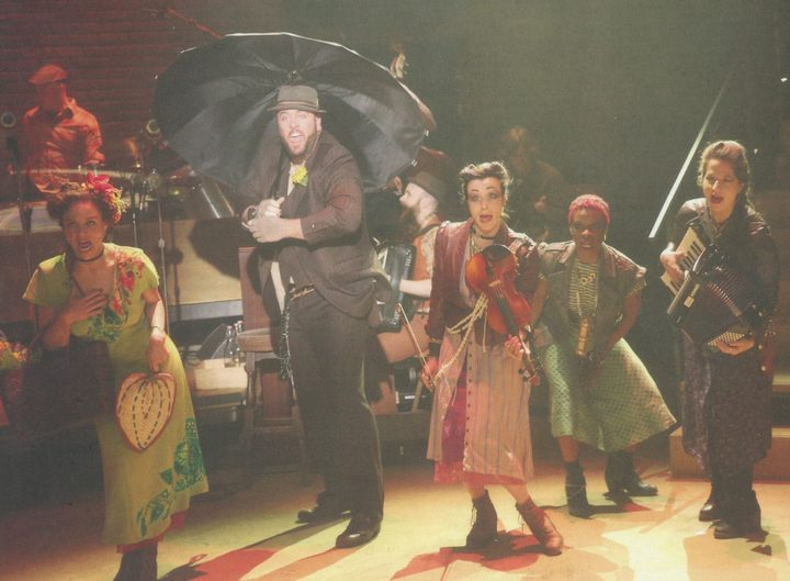 Hadestown cast, image from Original Cast Recording