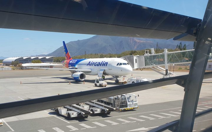 Noumea airport at La Tontouta New Caledonia