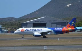 AirCalin Airbus at Noumea Airport