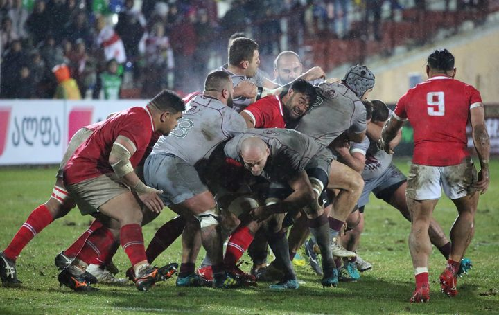 Tonga have lost four straight tests against Georgia.