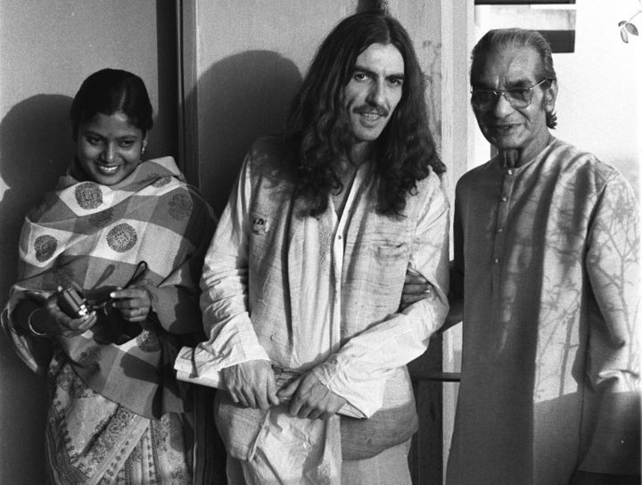 George Harrison in India 1972.
