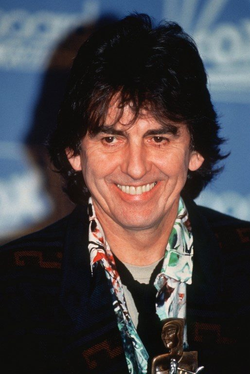 George Harrison in the 1980s