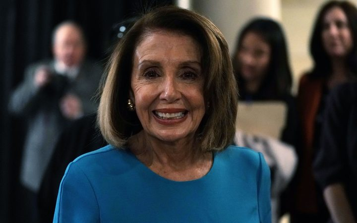 Pelosi wins first round: Democrats nominate veteran leader for House speaker