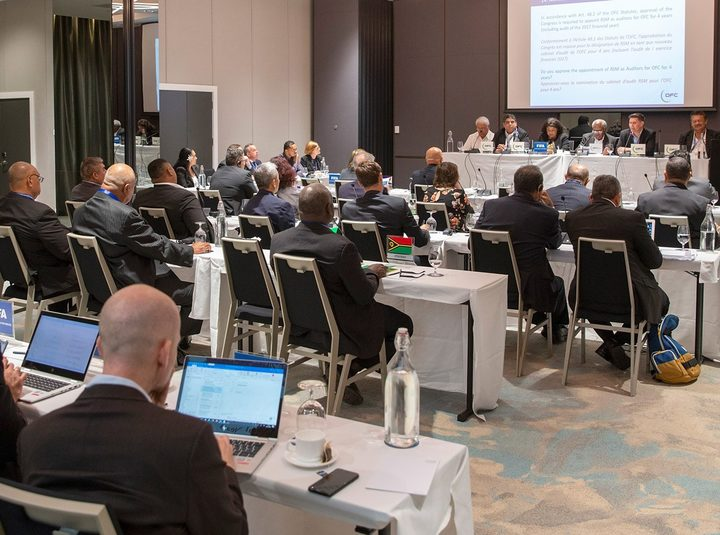 The OFC Congress met in November to approve new statutes.