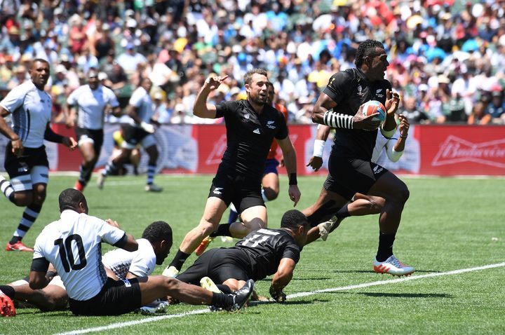 Fiji were beaten by New Zealand in the Rugby World Cup Sevens and Commonwealth Games