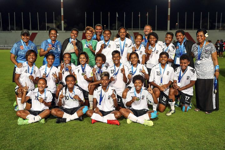 Fiji were competing in their first ever OFC Women's Nations Cup final.