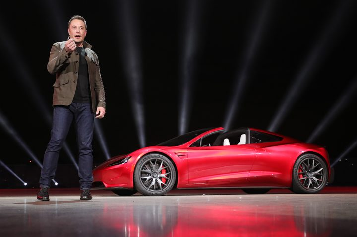 3238214 11/16/2017 Engineer, entrepreneur, inventor and investor Elon Musk during the presentation of Tesla Motors' new products.
