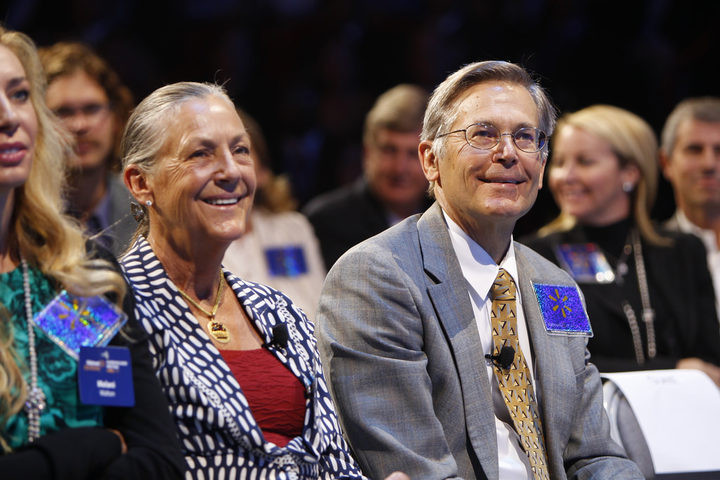 Alice and Jim Walton from Wal-Mart Stores are the richest family in America.