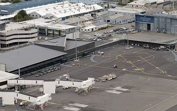 Christchurch International Airport.