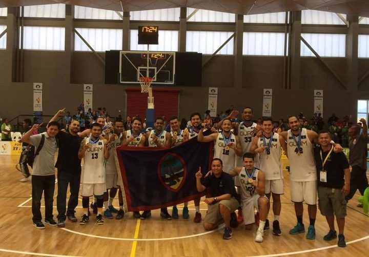 Guam won gold at the 2015 Pacific Games in Port Moresby.
