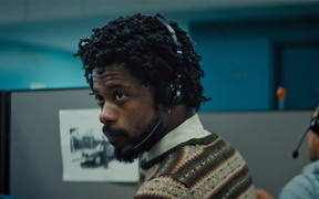 Lakeith Stanfield as Cassius Green in Sorry to Bother You.