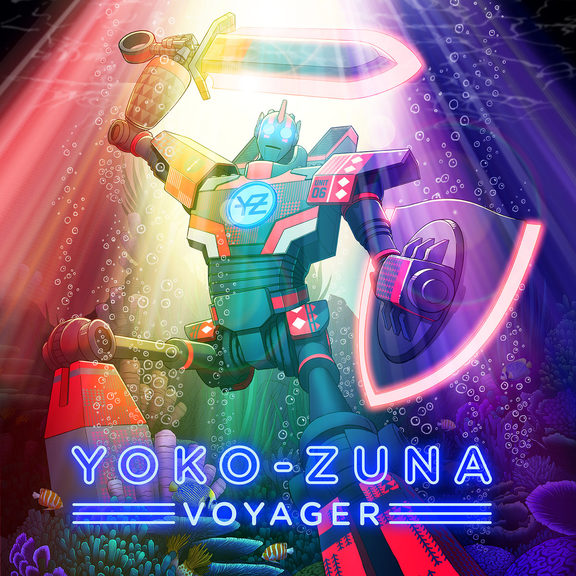 Cover at for Yoko Zuna's Voyager