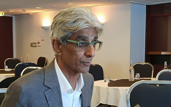 Tomorrow's Schools taskforce chair Bali Haque. 7 December 2018