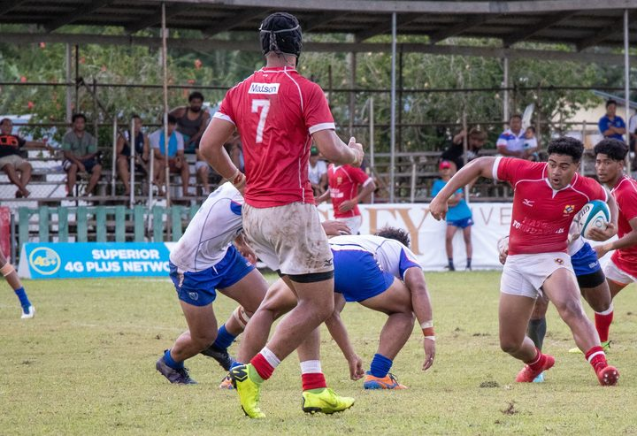Tonga Under 20s test the Samoan defence in Apia.