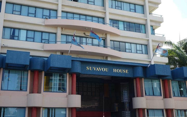 Suvavou House, home to the chambers of Fiji's Attorney-General Aiyaz Sayed-Khaiyum.