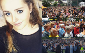 Thousands gathered at vigils across the country to pay tribute to Grace Millane and other victims of violence.