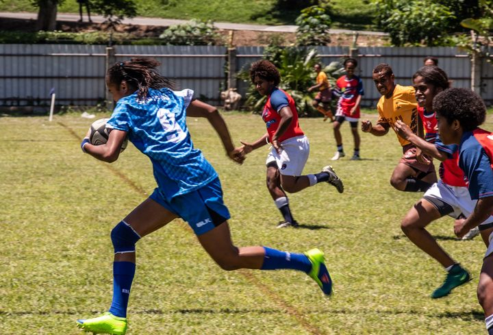 A record number of teams took part in Fiji's national women's age grade provincial sevens championship.