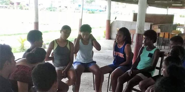 Prior to the competition, a gender-based violence awareness session was held for female players and their parents.