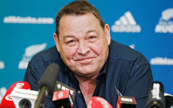 """I am a totally different man to when I first started coaching,"" said Steve Hansen."