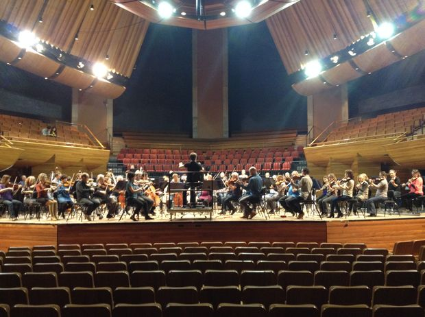 The New Zealand Symphony Orchestra rehearses for its Beethoven marathon.