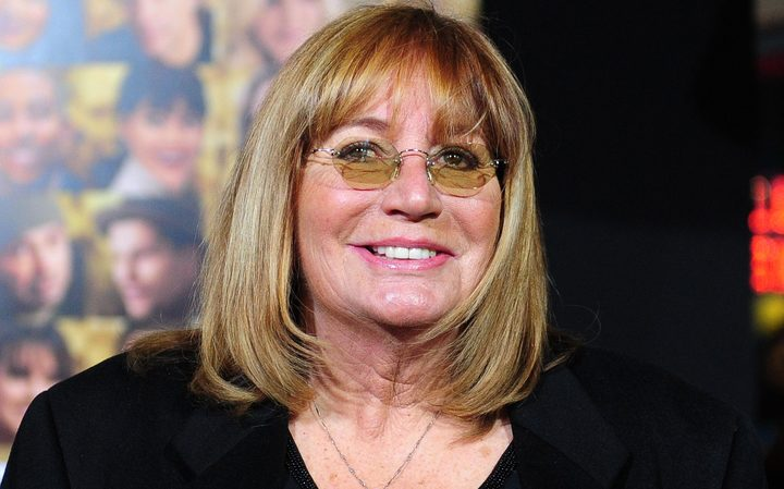 Former American actor/director Penny Marshall.